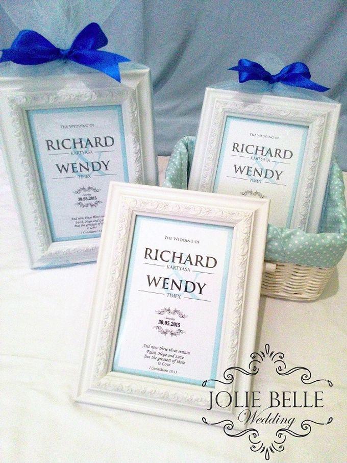 Photo Frame Gift Richard & Wendy by Jolie Belle - 001