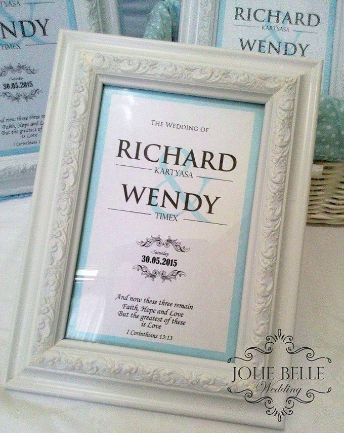 Photo Frame Gift Richard & Wendy by Jolie Belle - 002