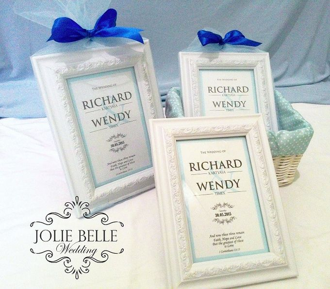 Photo Frame Gift Richard & Wendy by Jolie Belle - 003