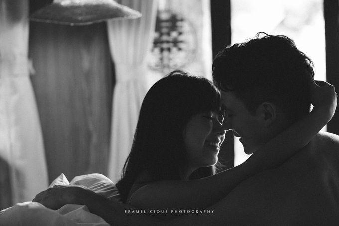 Eric & Vannessa - Pre Wedding Portraiture by Framelicious Studio - 001