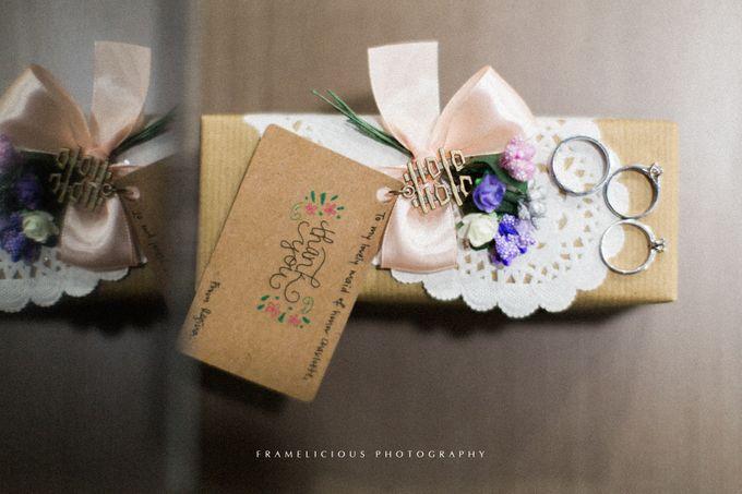 Ken & Regina - Wedding Photography by Framelicious Studio - 001