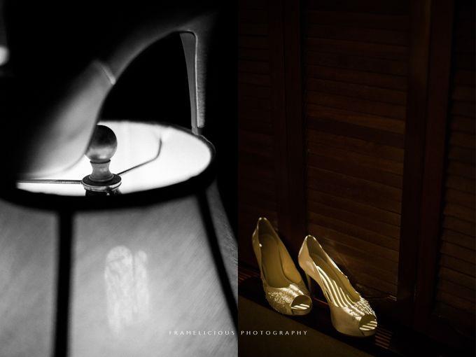 Anastasia & Jeremy - Wedding Photography by Framelicious Studio - 002
