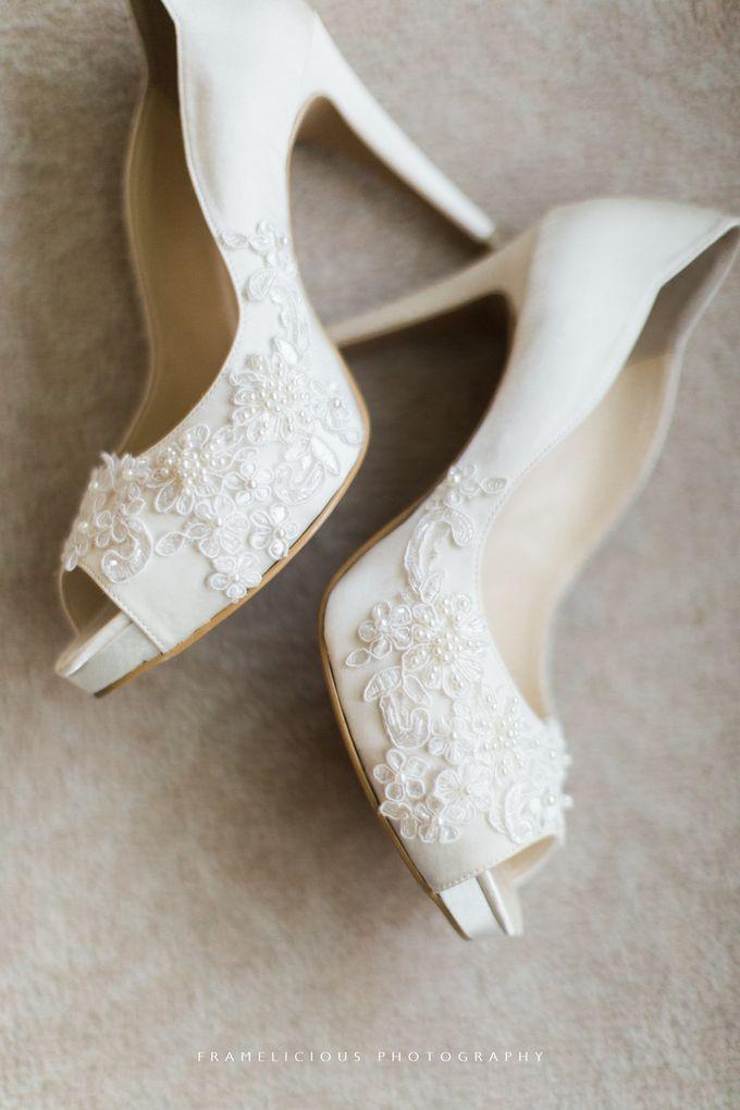Anastasia & Jeremy - Wedding Photography by Framelicious Studio - 005
