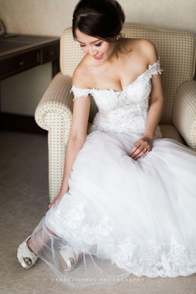 Anastasia & Jeremy - Wedding Photography by Framelicious Studio - 007