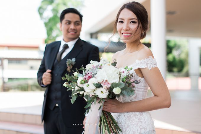 Anastasia & Jeremy - Wedding Photography by Framelicious Studio - 024