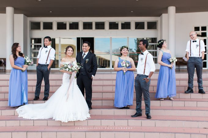 Anastasia & Jeremy - Wedding Photography by Framelicious Studio - 025