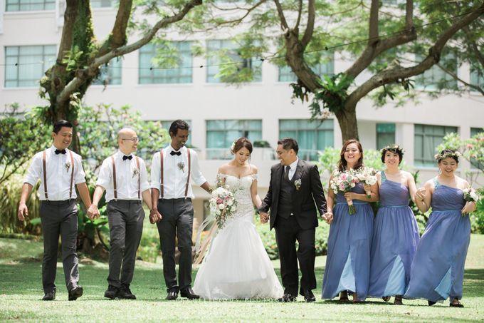 Anastasia & Jeremy - Wedding Photography by Framelicious Studio - 014