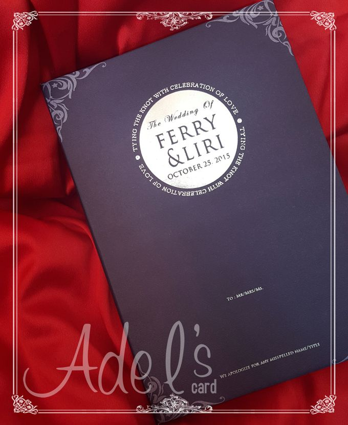 Two Pieces Hard Cover by Adel's House of card - 038