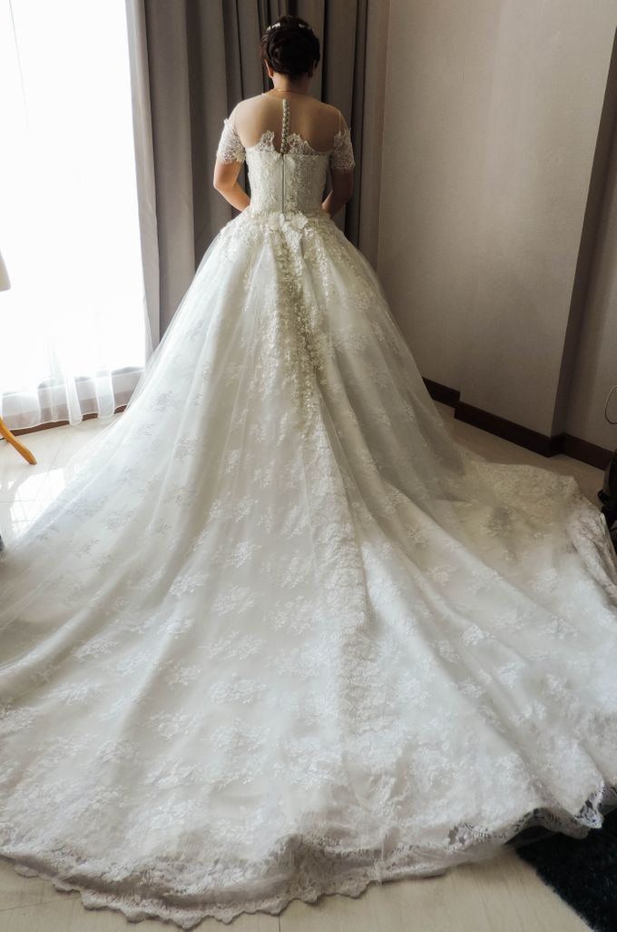 WEDDING WILLY & ALVIONITA by Stephanie Amanda Couture - 007
