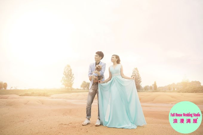 Pre-Wedding   Christopher & Trista by Full House Wedding Studio - 032