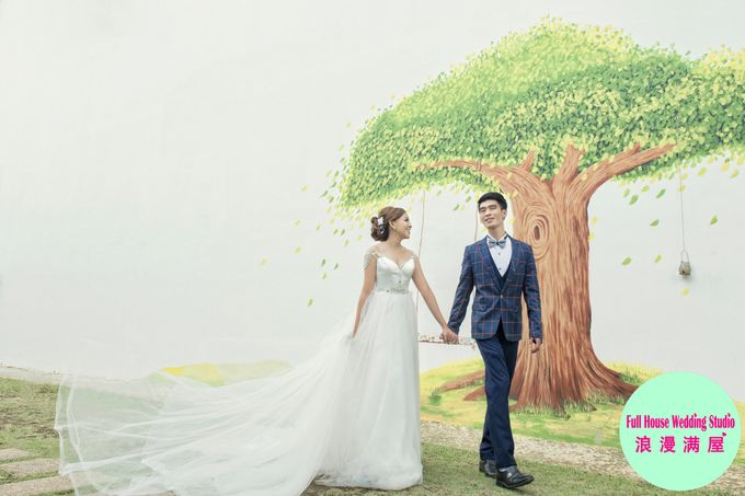 Pre-Wedding   Christopher & Trista by Full House Wedding Studio - 026