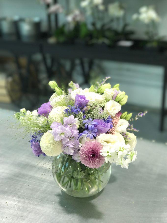 Solemnization / Reception Table / Wedding Venue Decoration by Petite Fleur SG - 030