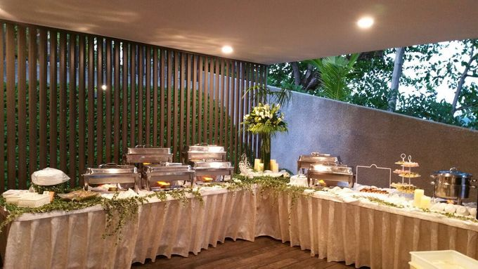 Tropical Rainforest Reception by Manna Pot Catering - 003