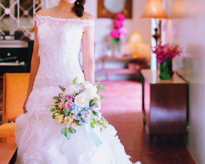 Bridal Bouquets by Ever & Blue Floral Design - 017