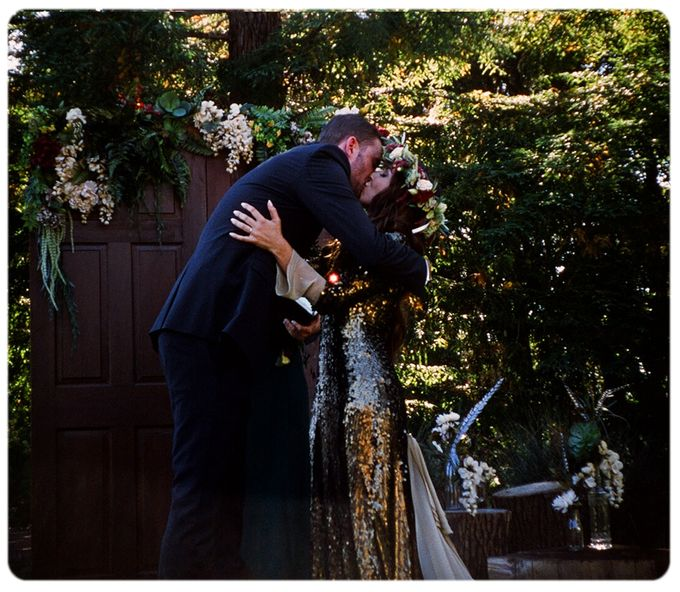 Wedding in the forest of the Santa Cruz Mountains by Stereo Photo Album - 005