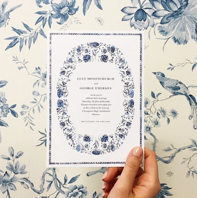 Floral Wedding by Paperless Post - 001
