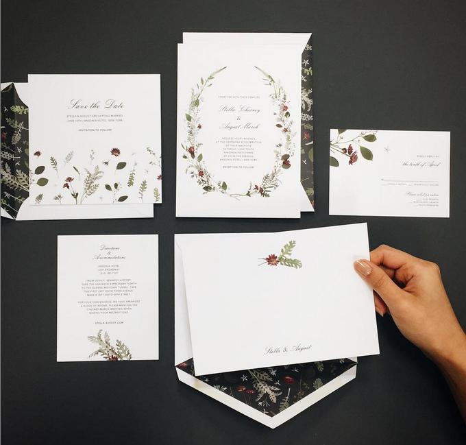 Oscar de la Renta wedding invitation by Paperless Post - 009