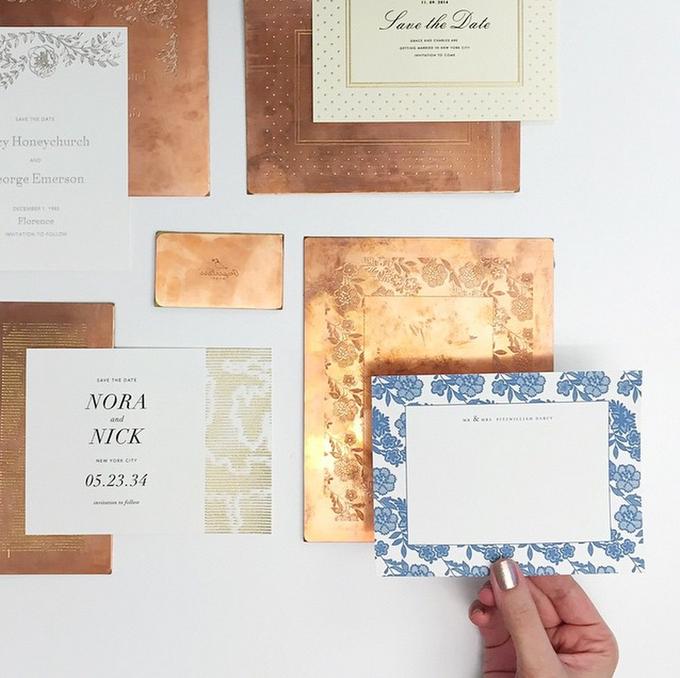 Oscar de la Renta wedding invitation by Paperless Post - 007