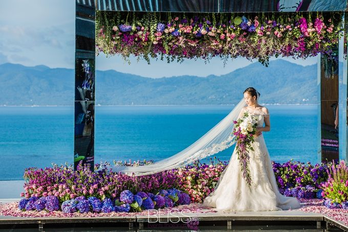 Tropical garden wedding at W Retreat by BLISS Events & Weddings Thailand - 005