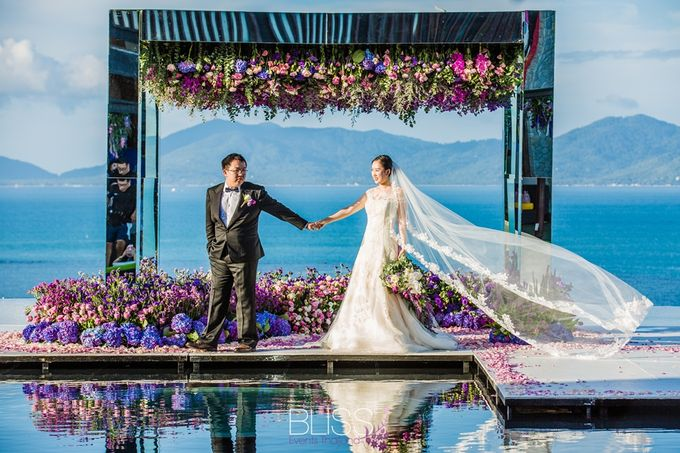 Tropical garden wedding at W Retreat by BLISS Events & Weddings Thailand - 006