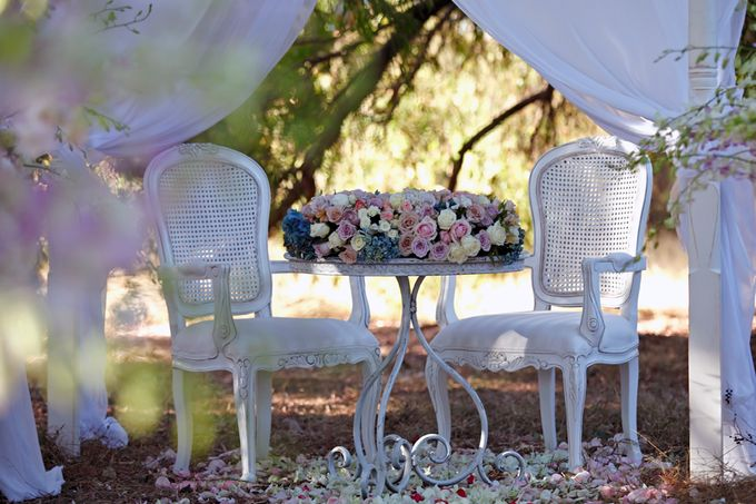 A Selection of Wedding Furniture we have available by Chic Rustique - 036