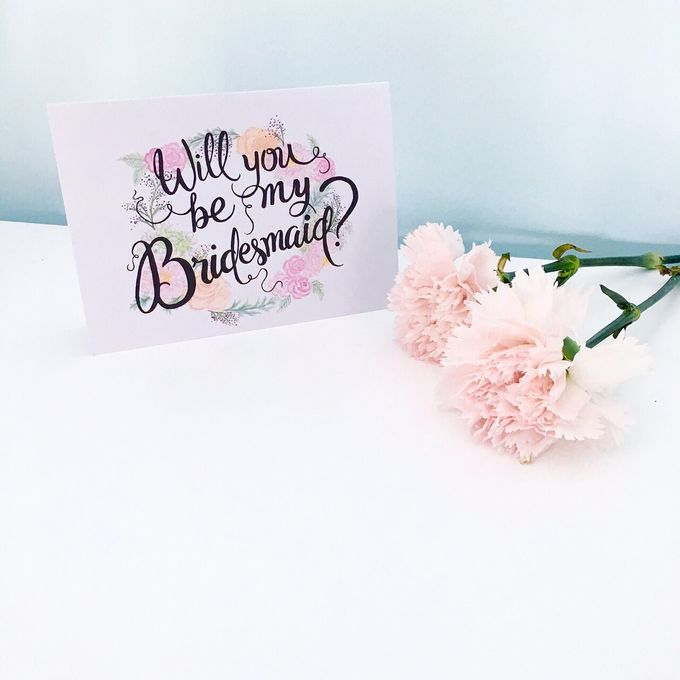 Will You Be My Bridesmaid Set by Bridesmaid & Co - 001