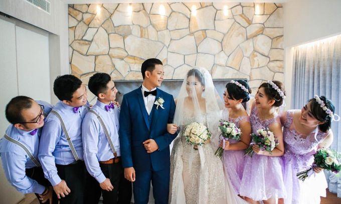 Ade & Julia Wedding by Gazelle Brides - 005