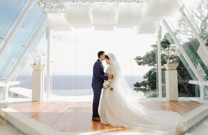 Ade & Julia Wedding by Gazelle Brides - 002