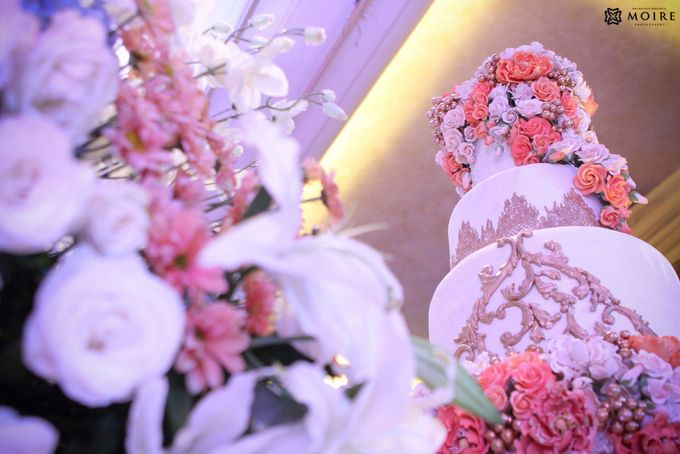 WEDDING OF FUSAN & CELINE by Angie's Cake - 001