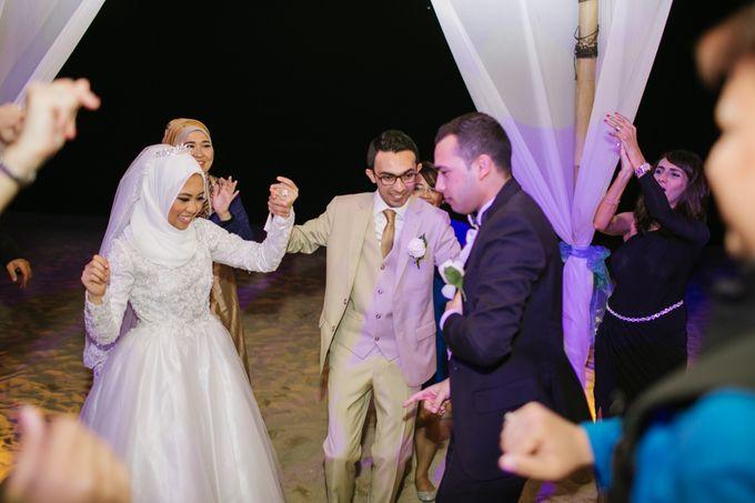 WEDDING OF EMYLIA & AHMED by Courtyard by Marriott Bali Nusa Dua - 011