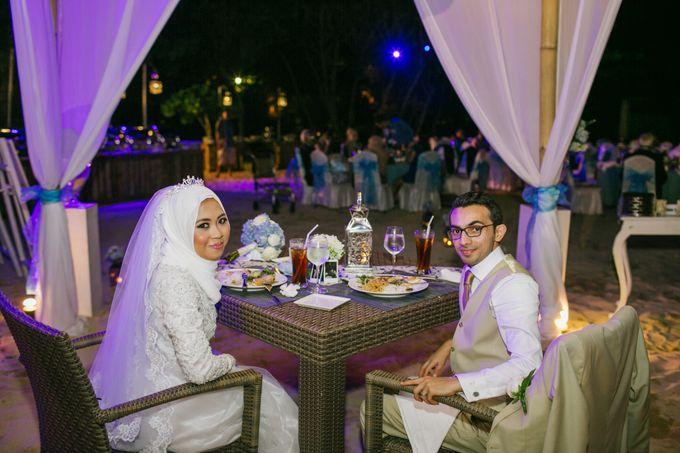 WEDDING OF EMYLIA & AHMED by Courtyard by Marriott Bali Nusa Dua - 022
