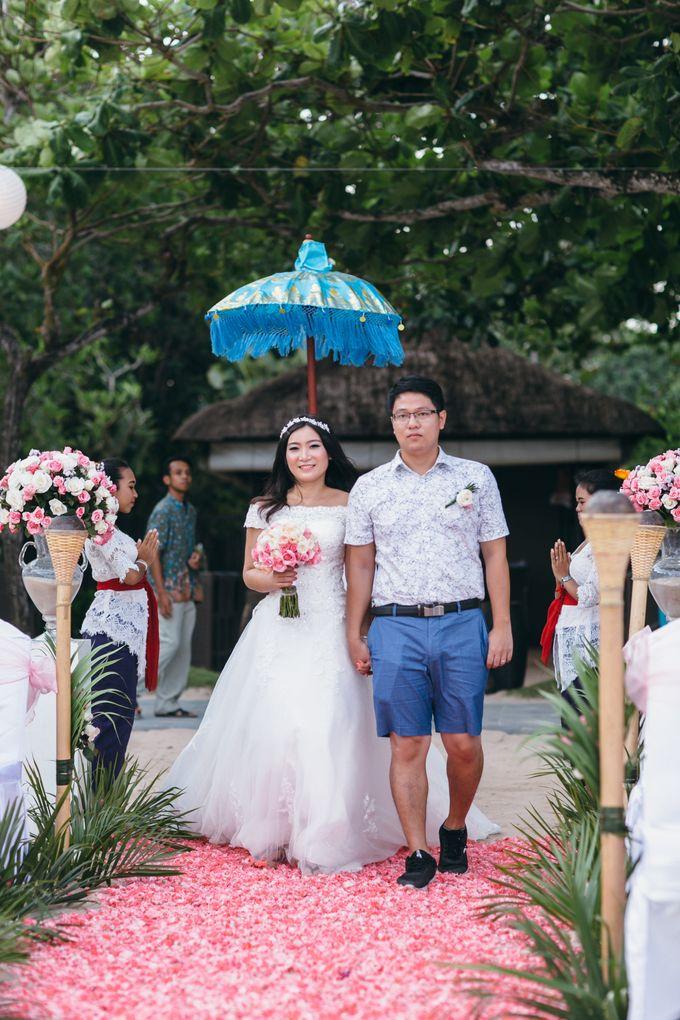 Wedding of Lin Kunkun and Yang Yiqiu by Courtyard by Marriott Bali Nusa Dua - 012
