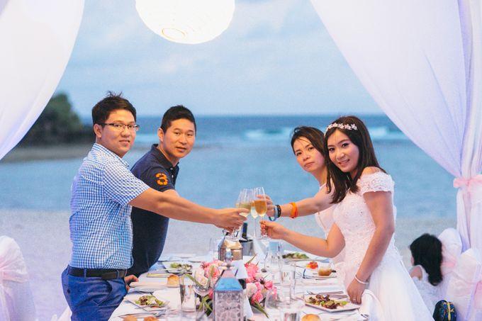Wedding of Lin Kunkun and Yang Yiqiu by Courtyard by Marriott Bali Nusa Dua - 016