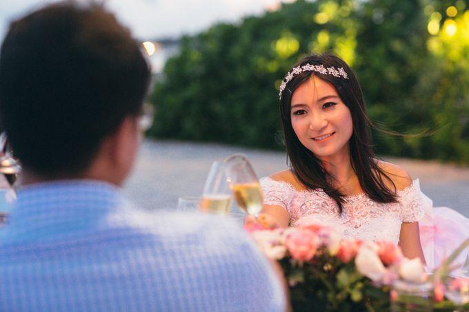 Wedding of Lin Kunkun and Yang Yiqiu by Courtyard by Marriott Bali Nusa Dua - 017