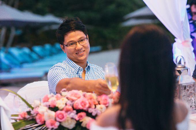 Wedding of Lin Kunkun and Yang Yiqiu by Courtyard by Marriott Bali Nusa Dua - 018