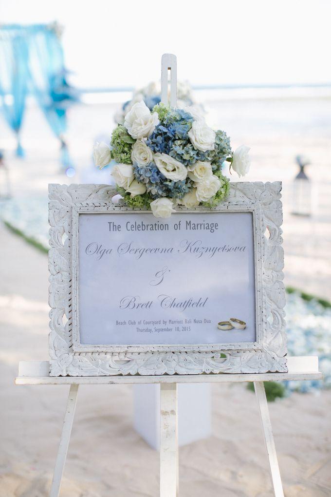 WEDDING OF OLGA & BRETT by Courtyard by Marriott Bali Nusa Dua - 009