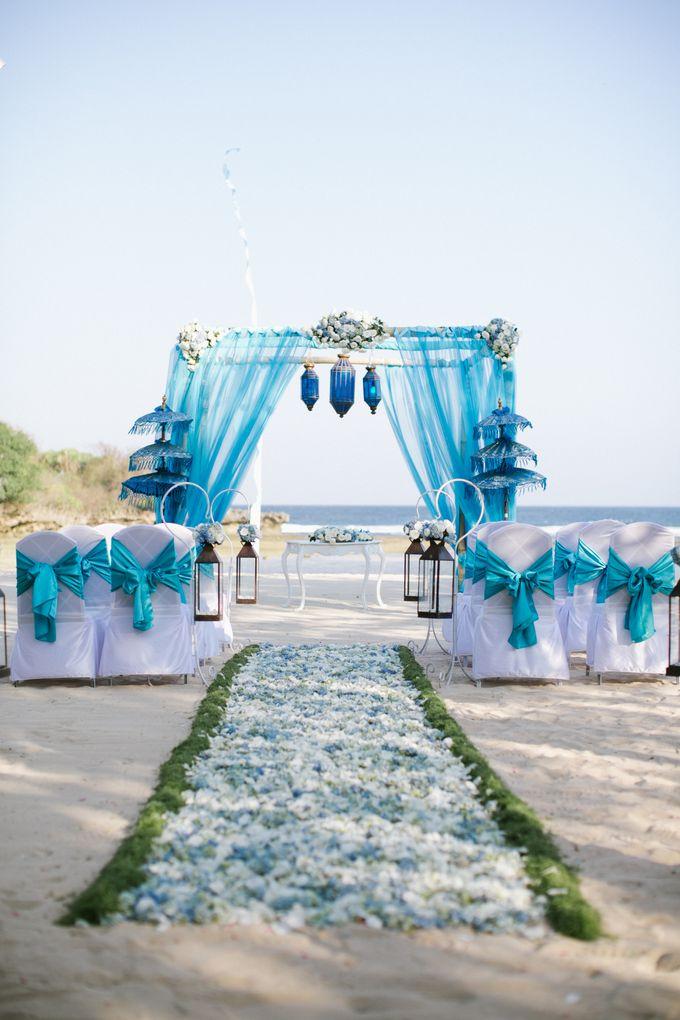 WEDDING OF OLGA & BRETT by Courtyard by Marriott Bali Nusa Dua - 001