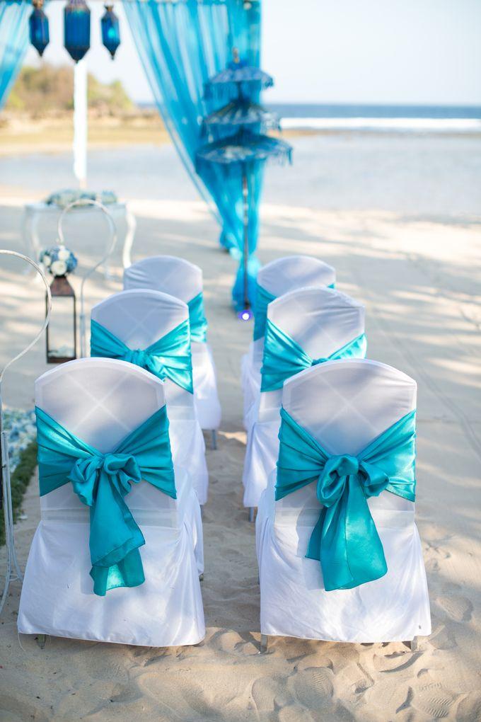 WEDDING OF OLGA & BRETT by Courtyard by Marriott Bali Nusa Dua - 005