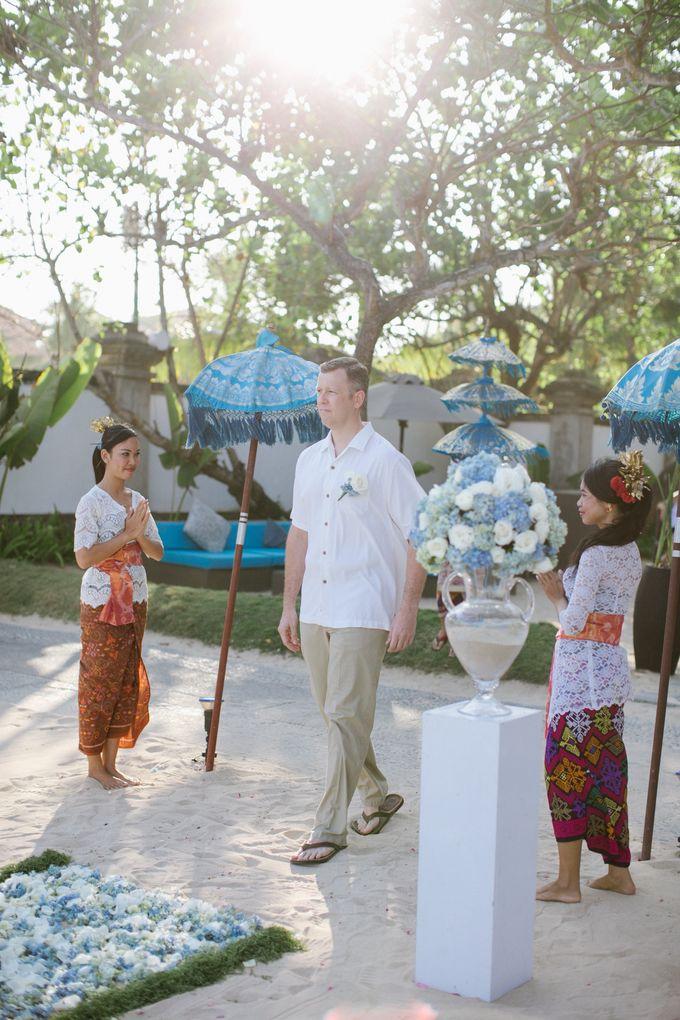 WEDDING OF OLGA & BRETT by Courtyard by Marriott Bali Nusa Dua - 013
