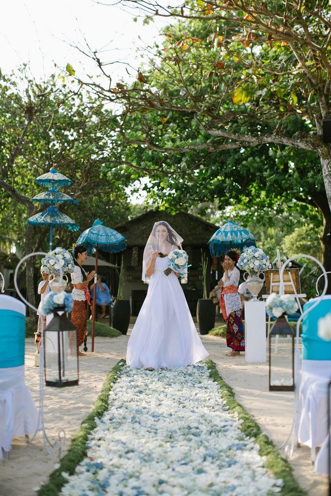 WEDDING OF OLGA & BRETT by Courtyard by Marriott Bali Nusa Dua - 018