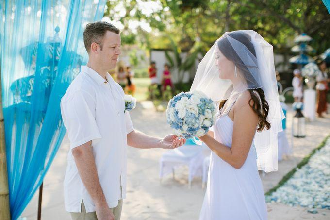WEDDING OF OLGA & BRETT by Courtyard by Marriott Bali Nusa Dua - 019