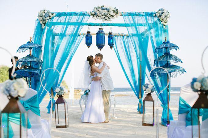 WEDDING OF OLGA & BRETT by Courtyard by Marriott Bali Nusa Dua - 021