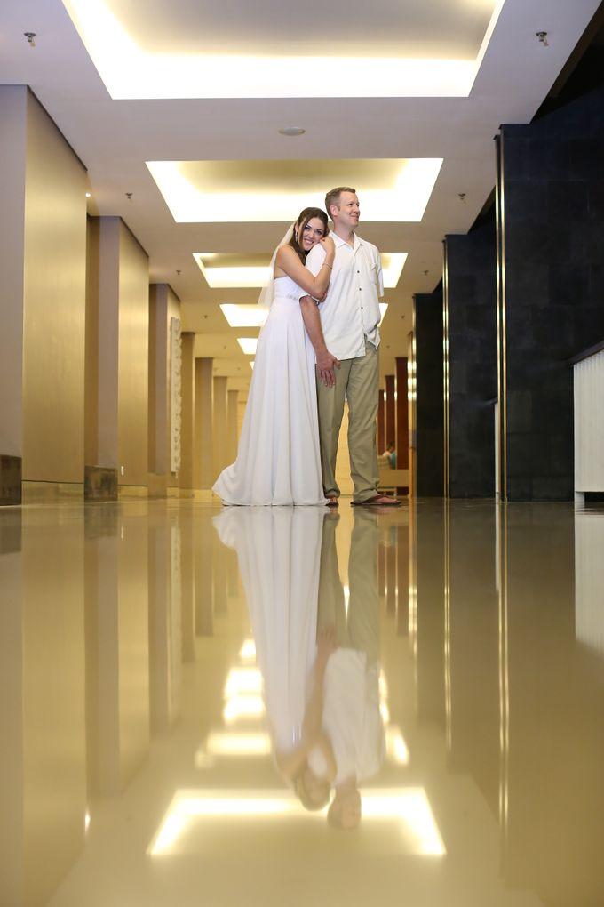 WEDDING OF OLGA & BRETT by Courtyard by Marriott Bali Nusa Dua - 022