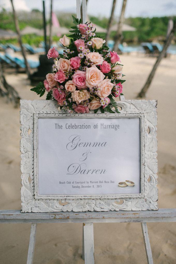 WEDDING OF GEMMA & DARREN by Courtyard by Marriott Bali Nusa Dua - 017