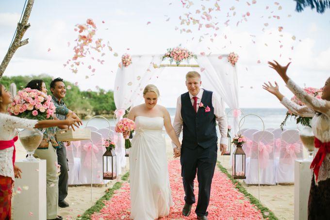 WEDDING OF GEMMA & DARREN by Courtyard by Marriott Bali Nusa Dua - 001