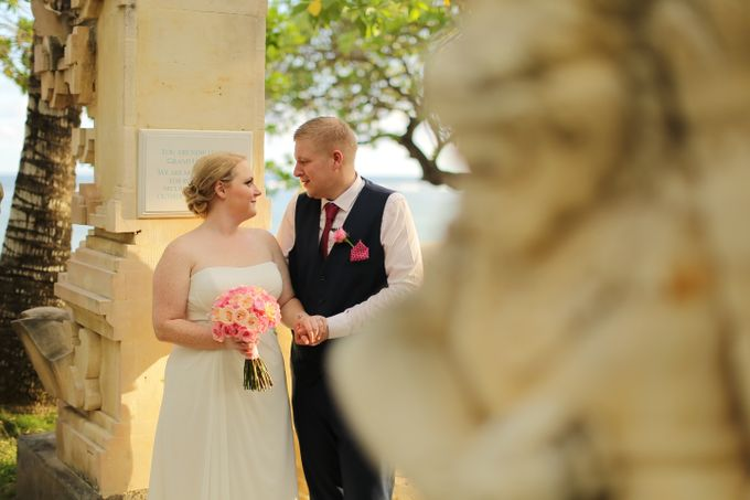 WEDDING OF GEMMA & DARREN by Courtyard by Marriott Bali Nusa Dua - 025