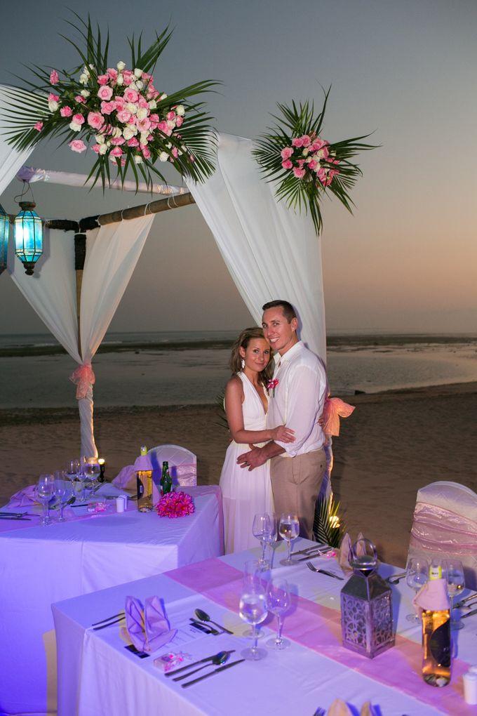 WEDDING OF TIFFANY & MICHAEL by Courtyard by Marriott Bali Nusa Dua - 004