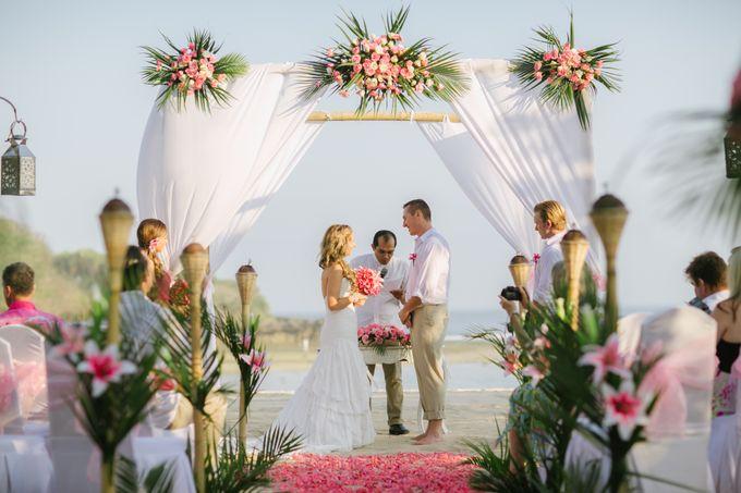 WEDDING OF TIFFANY & MICHAEL by Courtyard by Marriott Bali Nusa Dua - 021
