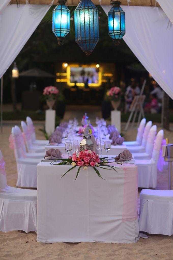 WEDDING OF TIFFANY & MICHAEL by Courtyard by Marriott Bali Nusa Dua - 031