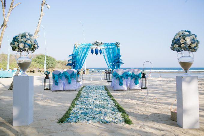 WEDDING OF OLGA & BRETT by Courtyard by Marriott Bali Nusa Dua - 015